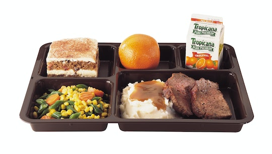 Meal Delivery Trays - Tray on Tray