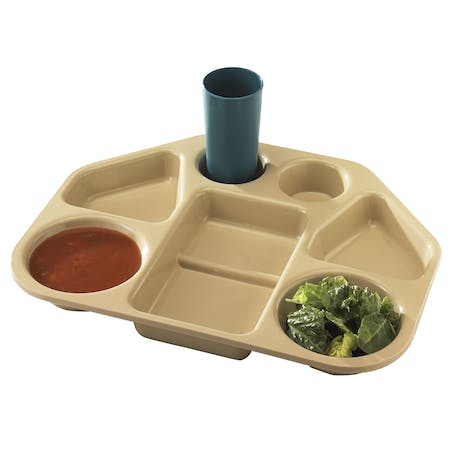 Trapezoid Compartment Trays