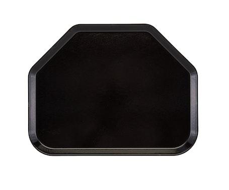 Black Trapezoid Tray