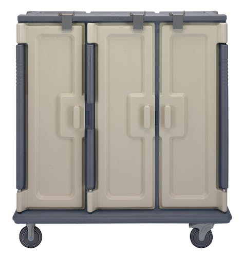 MDC1411T60191 Granite Gray 60-Tray Meal Delivery Cart