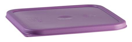 SFC2SCPP441 Allergen-Free Purple Square Container Cover