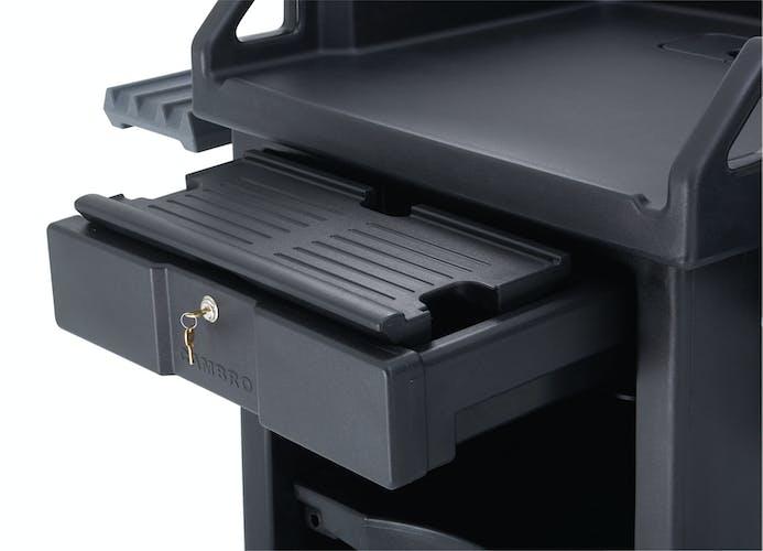 VCS32KEYT110 Versa Cart Keyboard Tray Black