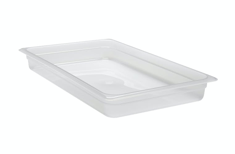"12PP190 Translucent Food Pan 1/1X2"" PP Translucent"