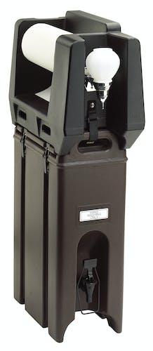 HWAPR110 Handwash Accessory With Paper Towel Roll Dispenser Black