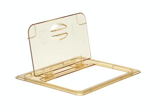 Tapas FlipLids® resistentes al calor X-Pan™ y H-Pan™