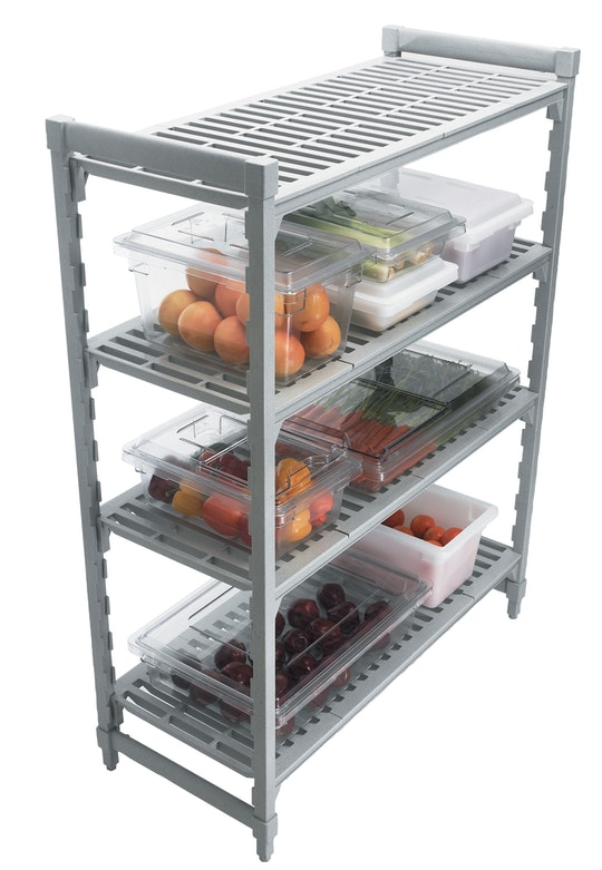 Camshelving® - Starter Units - Stationary with Vented Shelves