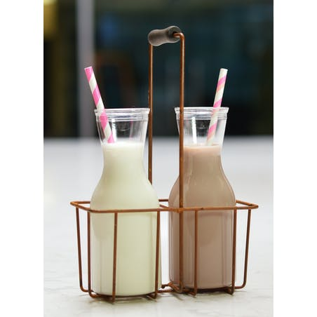 Mini Botellas de leche