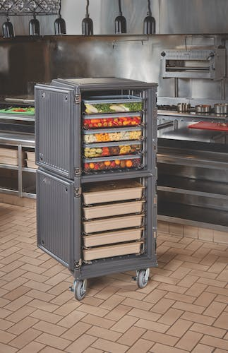 PCUPP615 Pro Cart Ultra Tall Passive Charcoal Gray Action