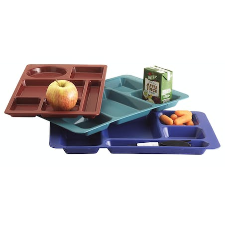 2 X 2 School Compartment Trays