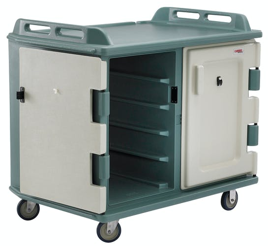 "MDC1418S20401 Meal Delivery Cart Capacity 20 Trays 14"" X 18"" Slate Blue"