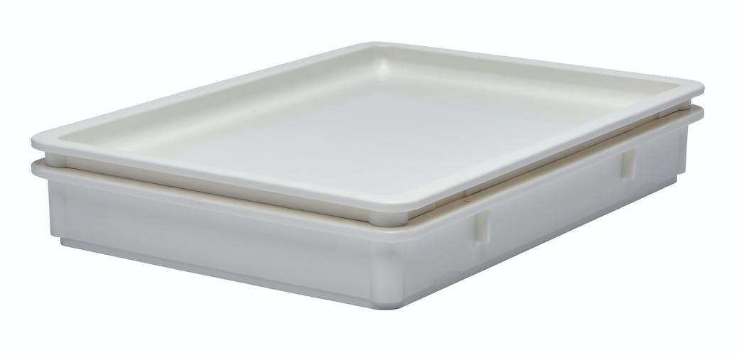 "DBC1826P148 Pizza Dough Box Cover 18"" X 26"" White"