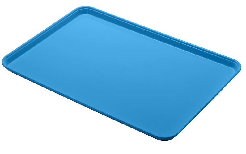 "1826MT142 Market Tray 18"" X 26"" Blue"