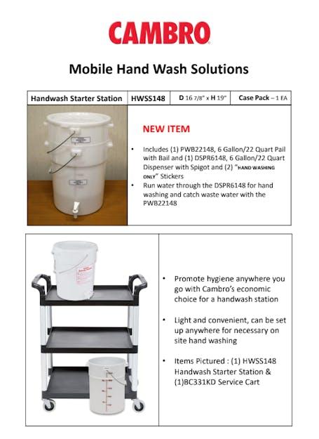 Handwash Starter Station Brochure
