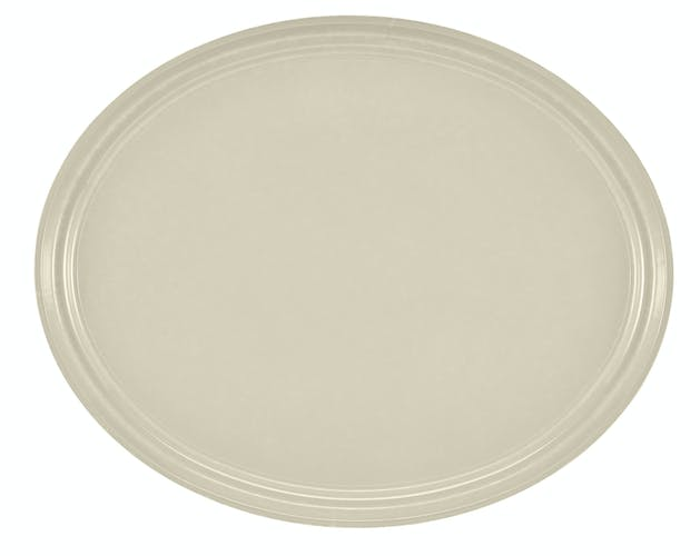 "2500538 Camtray 19"" X 24"" Oval Cottage White"