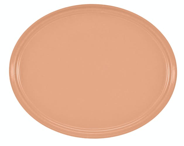 "2500117 Camtray 19"" X 24"" Oval Dark Peach"