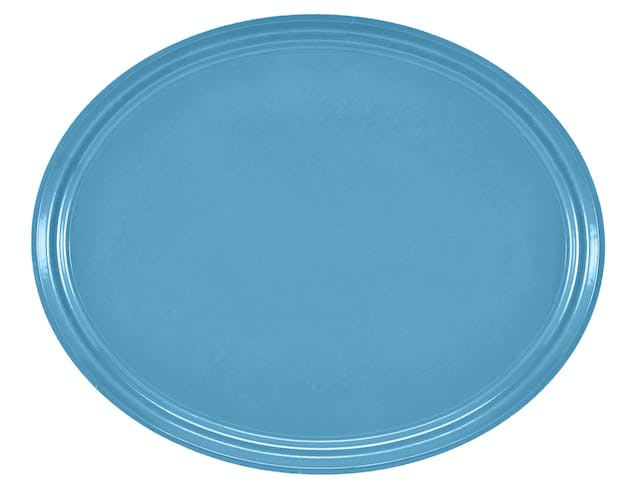 "2500518 Camtray 19"" X 24"" Oval Robin Egg Blue"