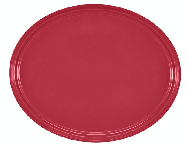 "2500221 Camtray 19"" X 24"" Oval Ever Red"