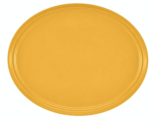 "2500171 Camtray 19"" X 24"" Oval Tuscan Gold"
