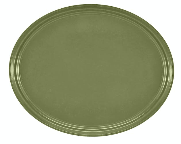 "2500428 Camtray 19"" X 24"" Oval Olive Green"