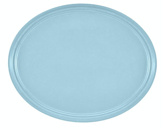 "2500177 Camtray 19"" X 24"" Oval Sky Blue"