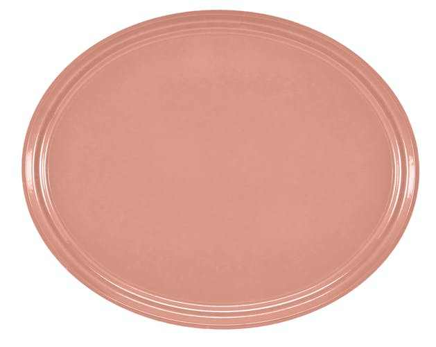 "2500409 Camtray 19"" X 24"" Oval Blush"