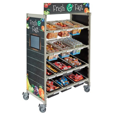 Camshelving Premium Series® Flex Station System for Schools