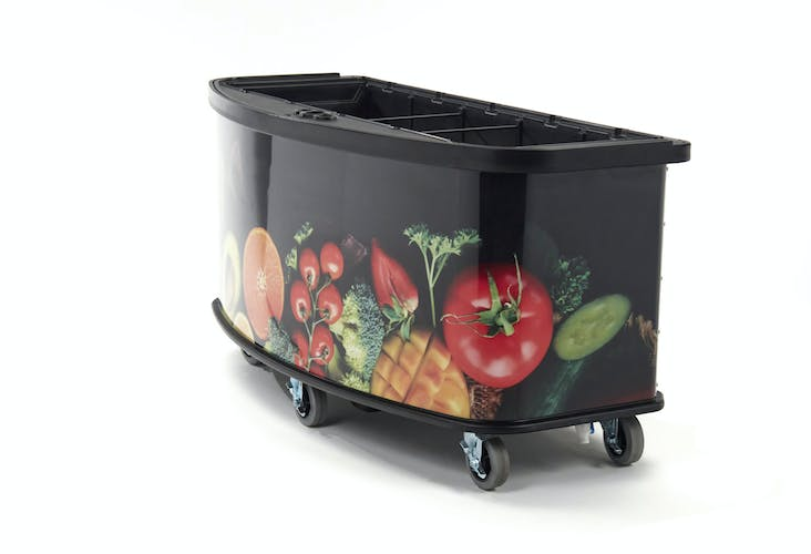 CVC75B Fruit & Veg Side