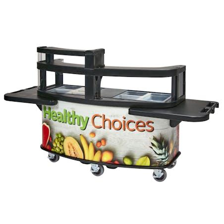 Cambro Vending Cart