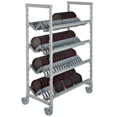 Camshelving® Premium Series Angled Drying and Storage Rack for Healthcare